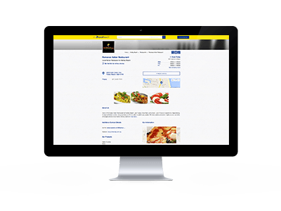 Online business profile example