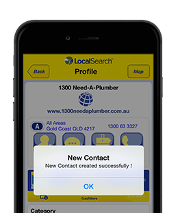 Save Contact Details from the App